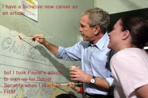 Bush's New Career