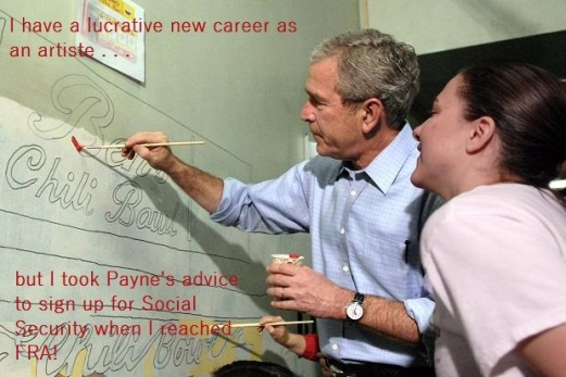 Bush's New Career