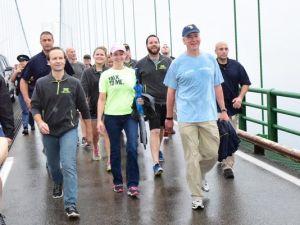 Snyder bridge walk